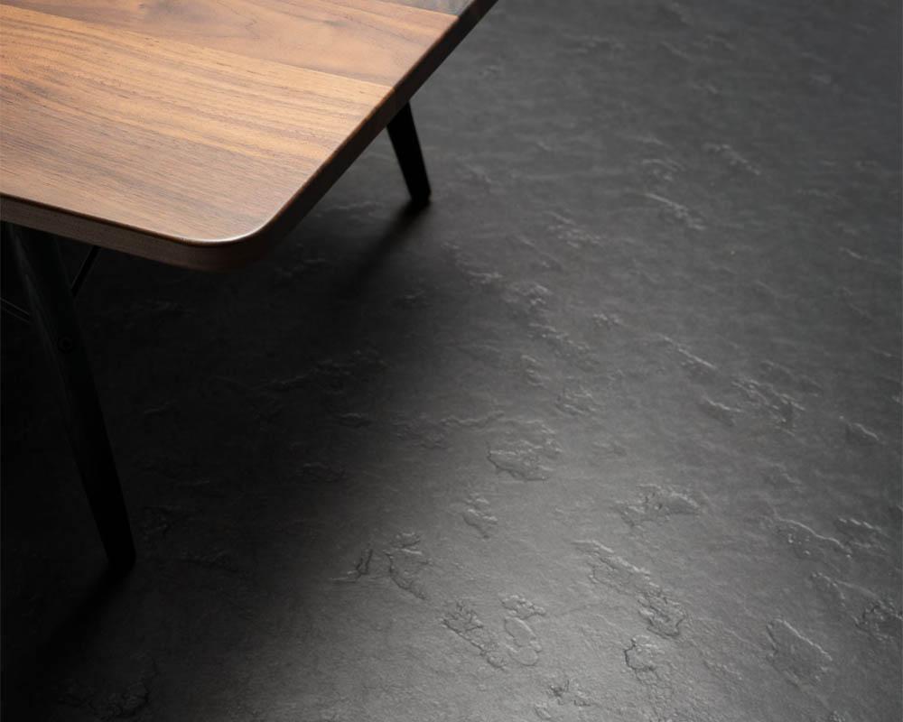 Marmoleum vloer smit interieur